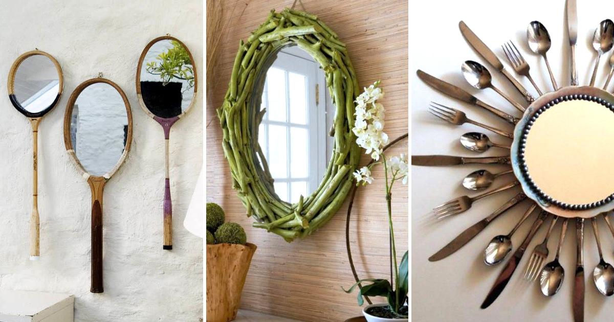 Красивый декор зеркала своими руками: эффектные идеи и простые варианты изготовления украшения для зеркала