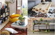 Идеи вашего дома: 15 стильных журнальных столиков, которые несложно сделать своими руками