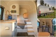 Компактный и удобный: Мерседес-Бенц Спринтер, переделанный в дом на колесах