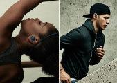 Беспроводные фитнесс-наушники Samsung cо встроенным МР3-плеером, шагомером и будильником