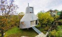 архитектура выделяясь соседей нестандартный загородный дом