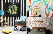 16 оригинальных идей, как преобразить стандартый интерьер с помощью декоративной покраски стен