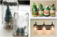 20 крутых идей, как использовать стеклянные бутылки помимо консервации