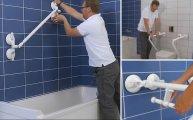 Поручни-трансформеры, которые сделают ванную комнату удобной и безопасной