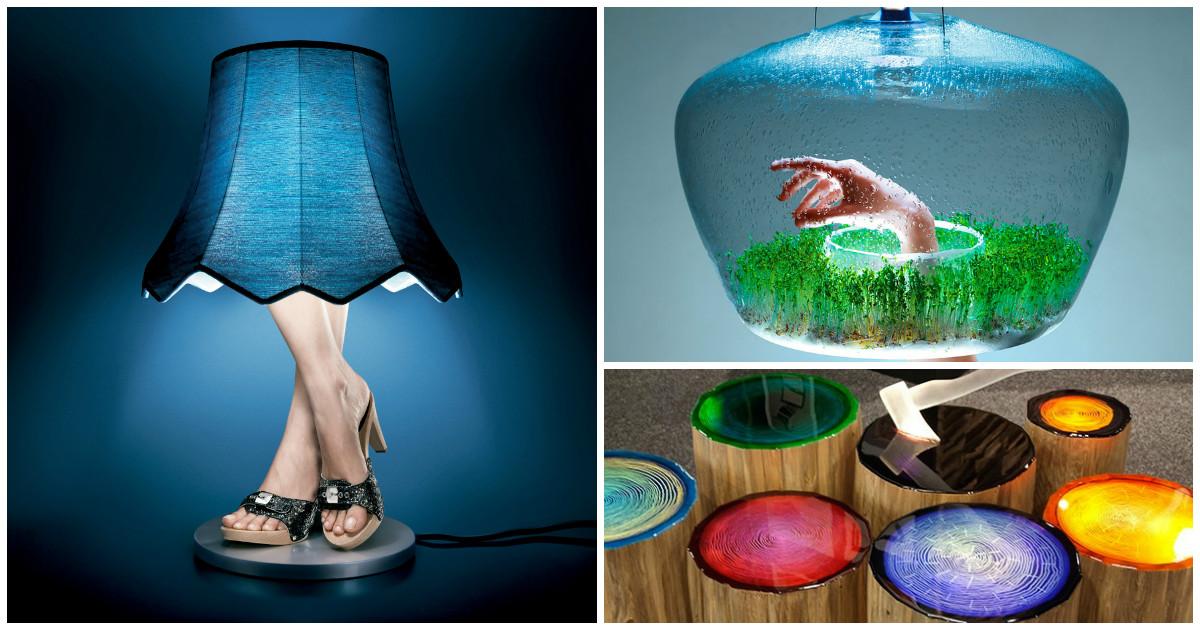 16 удивительных светильников для украшения интерьера
