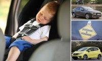 5  автомобилей для тех, кто заботится о безопасности  детей