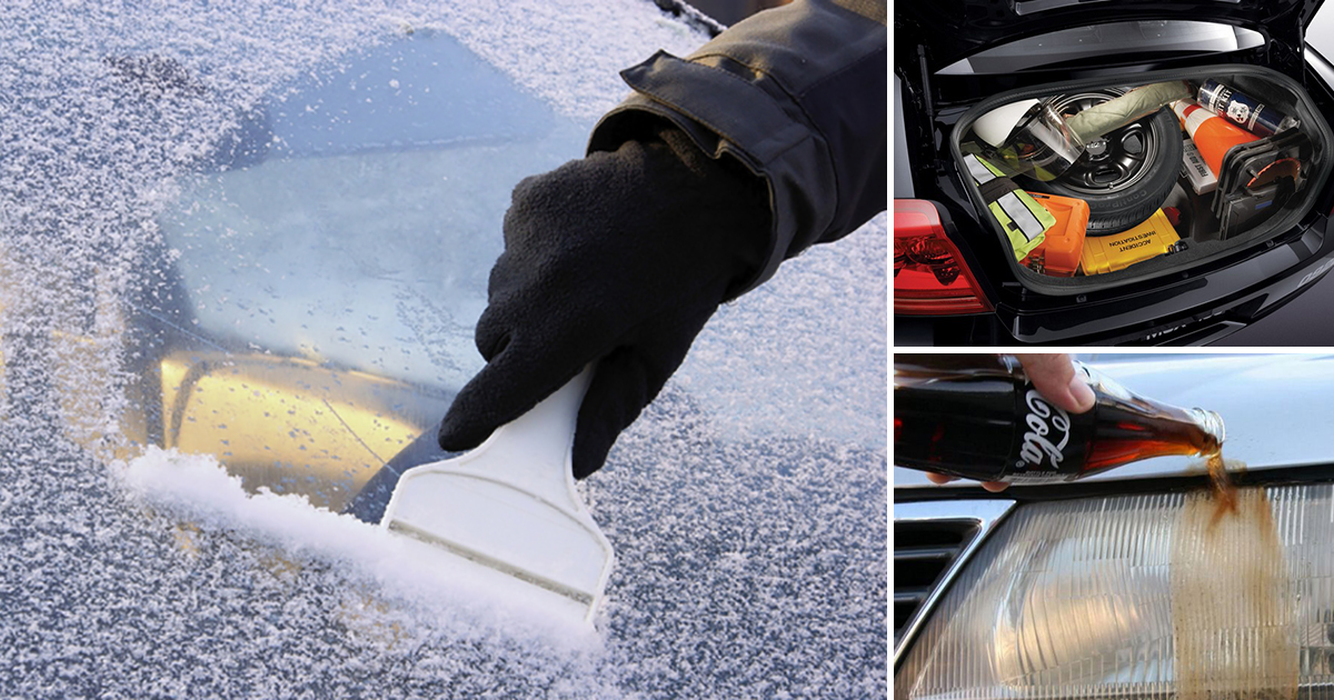 10 действенных лайфхаков, которые значительно упростят жизнь автомобилистам