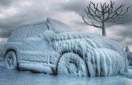 Автомобили: Как быстро и эффективно очистить лед со стекла автомобиля, используя подручные средства