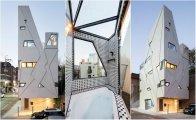 Нестандартная геометрия: дом с фасадом из «ломаных» линий
