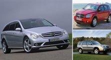 7 малоизвестных моделей авто, всемирно известных производителей