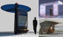 15 удивительных концепций автобусных остановок, которые хотелось бы увидеть в своём городе