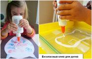 Как сделать полностью безопасный (и даже съедобный!) клей для детского творчества из 4 ингредиентов