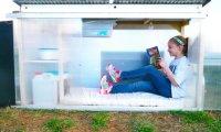 Девочка построила жилище для бездомных всего за 10 долларов