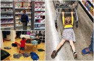 17 забавных снимков о шопинге с детьми, которые не дадут спуску никому