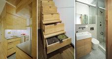 идеи квартира-студия площадью метров продумано мелочей