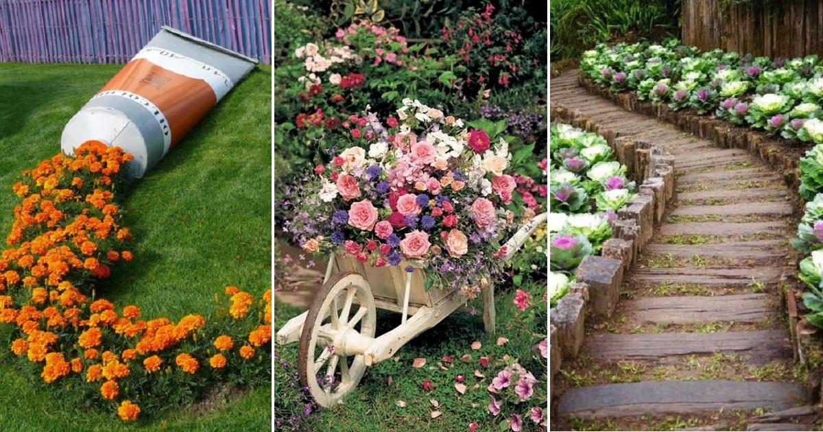 Украшение участка дачного садового приусадебного