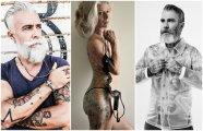 20 энергичных пенсионеров, которые отвечают на вопрос «как будет выглядеть твоя татуировка в старости?»