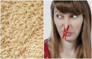 Как избавить ковер от неприятного запаха буквально за 10 минут