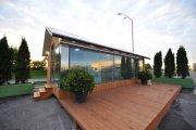Сплошные плюсы: украинцы представили «автономный» дом, распечатанный на 3D-принтере всего за сутки