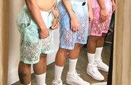 «Писк моды»: кружевные шорты - главный тренд летней мужской моды