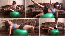 Фитнес-зал дома: фитбол как идеальное средство для эффективных тренировок