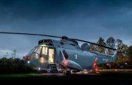 Военный вертолёт превратили в роскошный гостиничный номер