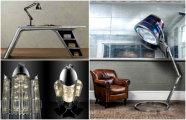 18 уникальных предметов мебели, сделанных из запчастей старых самолетов
