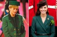 Один в один: 10 случаев, когда принцесса Диана и Кейт Миддлтон выглядели, как копии друг друга