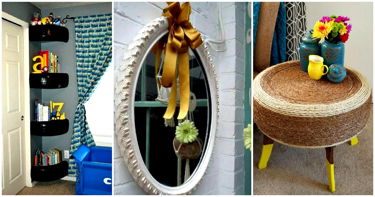 Красивые поделки из шин для дачи: стильные и оригинальные идеи применения шин для наружного оформления (110 фото)