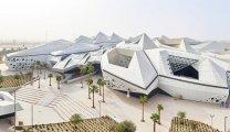 Футуристические соты: Уникальное здание, реализованное по проекту Захи Хадид