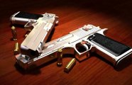 Промышленный дизайн: Разрушительные пули для пистолетов, от которых не спасет даже бронежилет