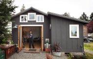 архитектура девушка переоборудовала гараж полноценный дом площадью метров