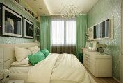 идеи реальных примеров расширить границы небольшой спальни типичной
