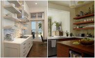 Идеи вашего дома: 8 случаев, когда открытые полки пригодятся на кухне не только как элемент декора
