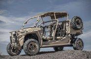 Автомобили: Внедорожник Polaris MRZR X - машина-конструктор, которая управляется со смартфона и не нуждается в водителе