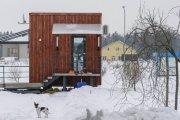 архитектура семья минска построила домик метров считает достаточно
