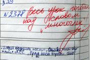 юмор итоги потешных заметках дневников школьников фото