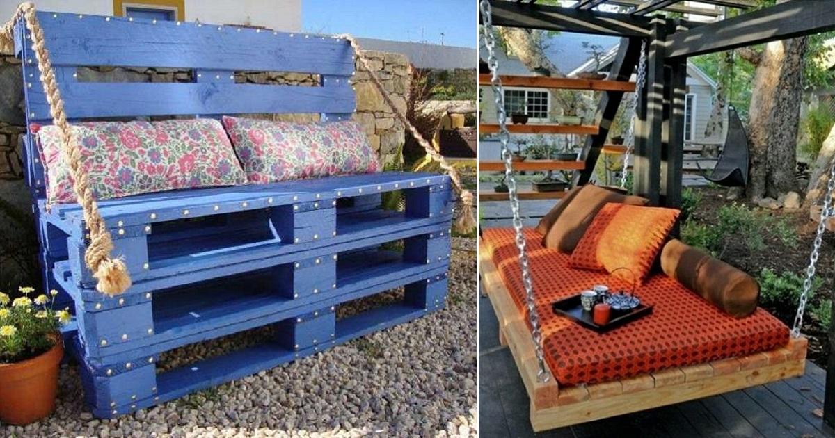 Мебель из поддонов: что можно сделать из деревянных паллет