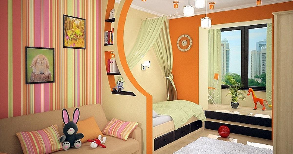 Детская комната рекомендации по оформлению Стены и пол