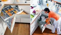 Идеи вашего дома: 10 идей угловых шкафов, которые сделают кухню по-настоящему удобной