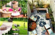 Идеи вашего дома: 17 примеров оформления уголков отдыха, которые захочется воплотить в своем дворе