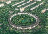 Архитектура: Столичные дома-бублики, или Почему в Москве появились круглые панельки