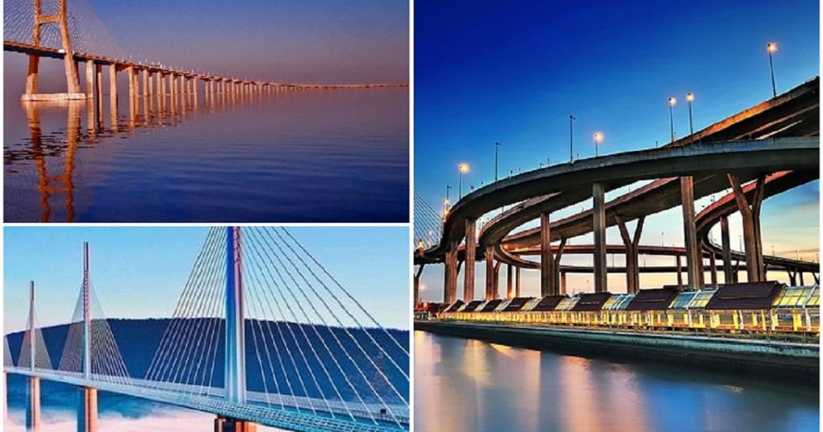 10 самых длинных мостов в китае