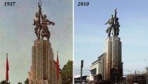 Архитектура: Самая знаменитая пара в СССР, или Как создавался памятник Рабочий и колхозница, и что у него внутри
