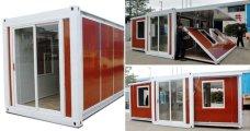 архитектура модульный дом-контейнер построить дачу площадью метров