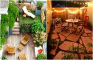 Идеи вашего дома: 15 реальных идей, которые помогут обустроить узкий дворик на даче
