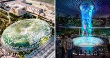Архитектура: В лучшем аэропорту мира весной появится сооружение, из-за которого можно даже забыть о своем рейсе