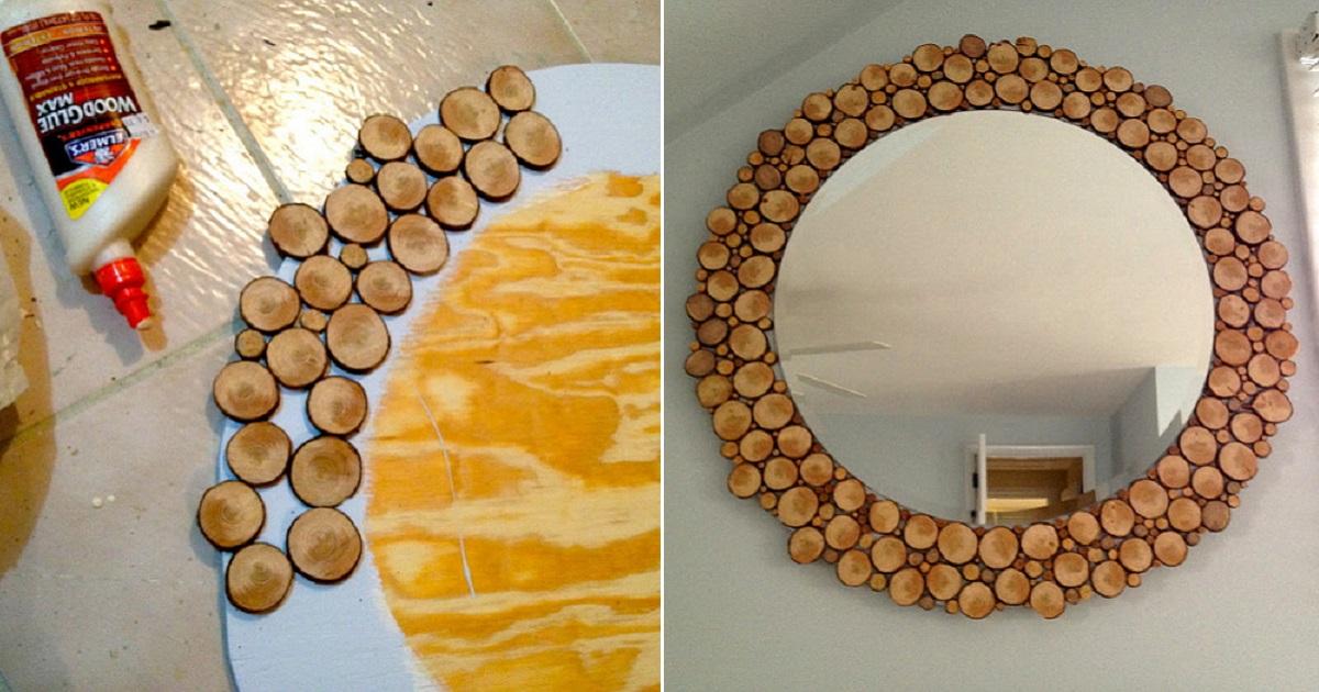 Декор зеркала — современные идеи, оптимальные материалы и варианты оформления зеркал (80 фото)