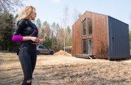 Архитектура: Молодая семья обзавелась дачей под Минском, которая не похожа на совковые постройки