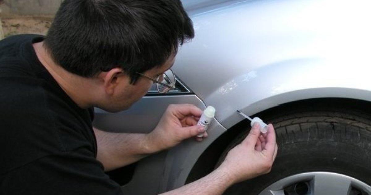 Проверенные методы, как убрать скол краски на кузове автомобиля, чтобы он не начал ржаветь